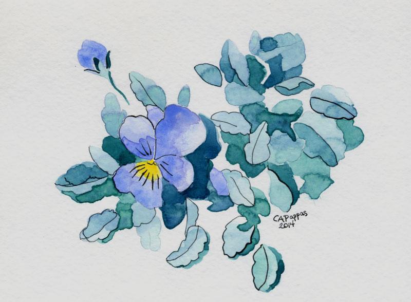 viola painting