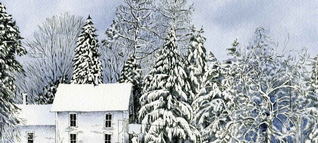 Winter House (detail)