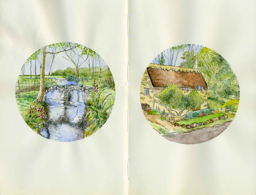 English countryside drawings
